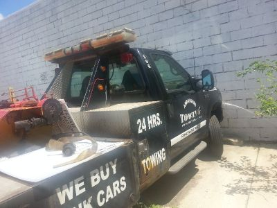 dynamic tow truck auto loader. 2001 ford f550