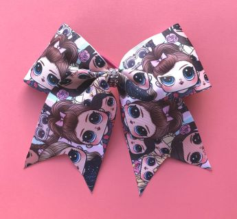 DollFace Cheer Bow Ponytail