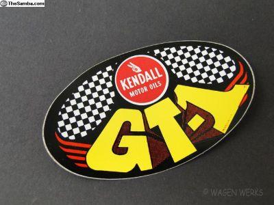 Vintage VW Gasser Sticker Kendall Motor Oil GT-1
