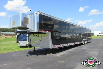 2009 T&E 53' Race Trailer with Living Quarters