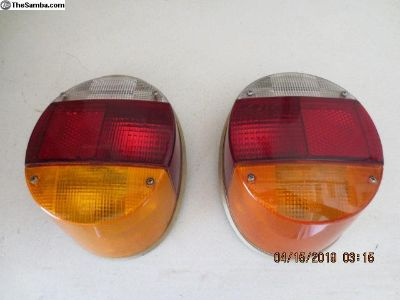 Rear Tail Lights 73 uper Beetle