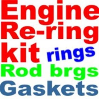 Sell Rebuild Engine re-ring kit Chevy 283 327 305 400 1957 -1985-rings,rods, gaskets motorcycle in Duluth, Minnesota, United States, for US $76.98