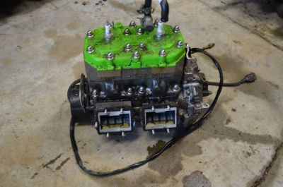 Purchase 93 Kawasaki XI Sport 750 Motor Engine Complete motorcycle in Lapeer, Michigan, United States, for US $750.00