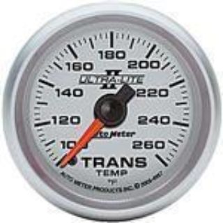 Find Autometer UltraLite II Trans Temp Gauge 2-1/16 full sweep electric 100-26F 4957 motorcycle in Winchester, KY, US, for US $143.83