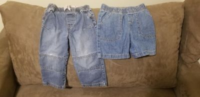 Boys 2t/24mo jeans and shorts