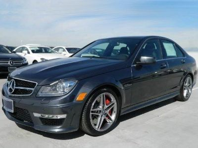 2013 Mercedes-Benz C-Class C63 AMG (Steel Grey Metallic)