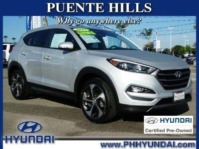 2016 Hyundai Tucson Limited (Silver)
