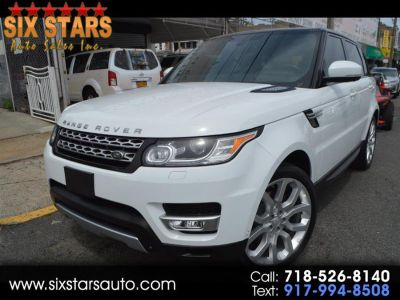 2014 Land Rover Range Rover Sport Supercharged (White)
