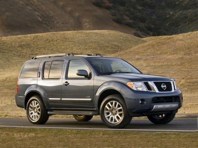 2008 Nissan Pathfinder S (Storm Gray Metallic)