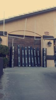 Raider Nation Shot Boards and Uprights