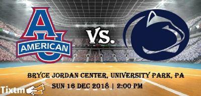 Penn State Lady Lions vs. American University Eagles [WOMEN] Tickets, Bryce Jordan Center