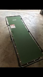 Coleman Cot with mattress