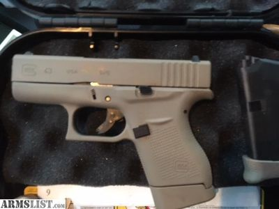 For Sale/Trade: Glock 43 FDE