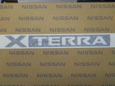 Purchase NEW GENUINE OEM NISSAN 2005-2010 XTERRA ROOF RACK DECAL EMBLEM motorcycle in Phoenix, Arizona, United States, for US $11.99