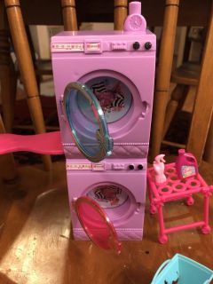 Barbie cleaning set
