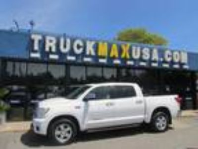 2013 Toyota Tundra Limited 5 7L CrewMax 2WD White, NAVIGATION, LEATHER