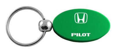 Find Honda Pilot Green Oval Keychain / Key fob Engraved in USA Genuine motorcycle in San Tan Valley, Arizona, US, for US $14.61
