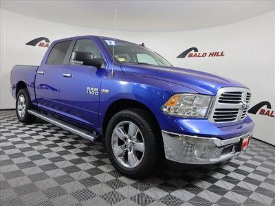 2017 RAM 1500 BIG HORN CREW CAB 4X4 5'7 BOX (Blue Streak Pearlcoat)