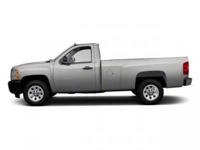 2010 Chevrolet Silverado 1500 Work Truck (Sheer Silver Metallic)