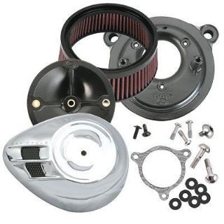 Sell S&S CYCLE AIRSTREAM AIR INTAKE BREATHER FILTER CLEANER KIT HARLEY TOURING & CVO motorcycle in Zieglerville, Pennsylvania, US, for US $259.95