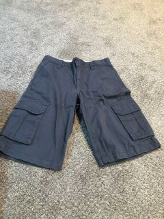 Boy s Cargo Shorts size 14 Old Navy Gray