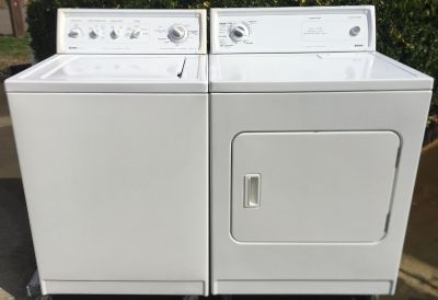Kenmore Heavy Duty Super Capacity Electric Washer & Dryer
