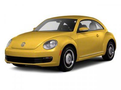 2012 Volkswagen Beetle 2.5 PZEV (White)