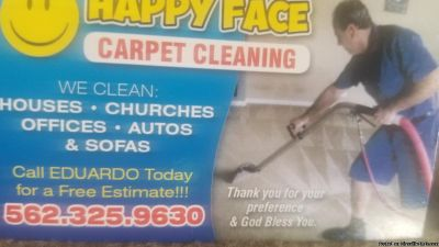 HAPPY FACE CARPET CLEANING