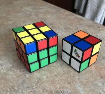 2 new Rubic Cubes