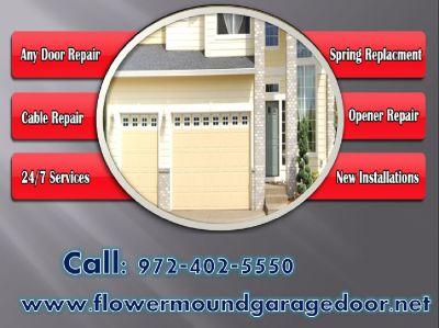Same Day and Fast Broken Garage Door Springs Repair Service 75022