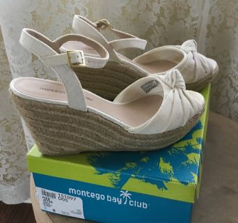 Montego Bay Wedge size 8