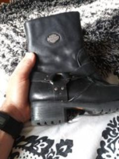 Harley womens riding boots
