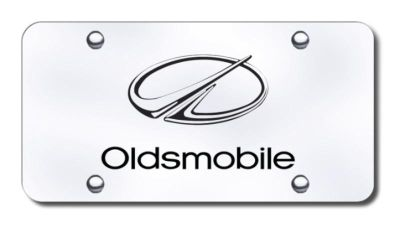 Sell GM Oldsmobile Laser Etched Brushed Stainless License Plate PL.OLD.ES Made in US motorcycle in San Tan Valley, Arizona, US, for US $39.52