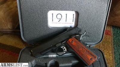 For Sale: Sprinfield 1911 range officer champion