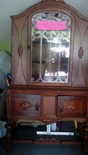 WEBB Vintage China Hutch