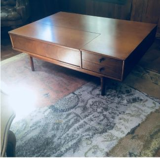 Vintage Mid Century Modern Kipp Stewart Table