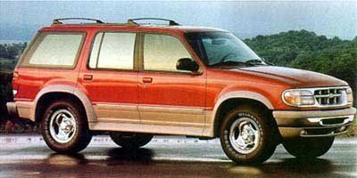 1997 Ford Explorer Eddie Bauer (Oxford White Clearcoat)