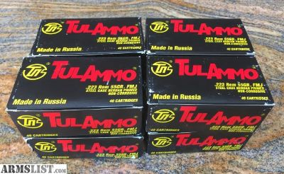 For Sale: 223 ammo