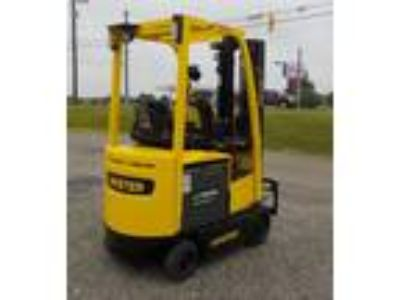 2012 Electric Hyster E35XN Cushion Tire 4 Wheel Sit Down Indoor Warehouse