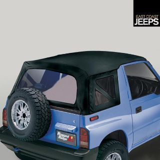 Sell 53723.15 RUGGED RIDGE XHD Soft Top, Black Denim, Clear Windows, 95-98 Suzuki motorcycle in Smyrna, Georgia, US, for US $264.53