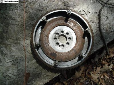 Custom Billet Flanged Flywheel - Scat 8 bolt