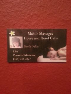 Body Massage Mobile Service