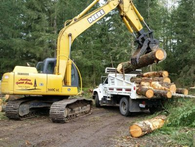 FIREWOOD LOGS For Sale, LOG TRUCK or DUMP TRUCK LOADS🌲LOGGING Washington Selling WOOD