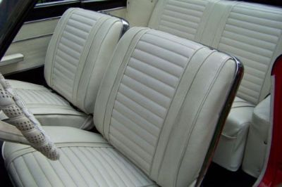 Buy 1963 Oldsmobile Cutlass Front&Rear Seat Cover Set -New Authentic Reproduction motorcycle in Placentia, California, United States, for US $742.66