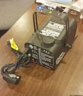 New Fog machine with 4 containers of liquid fog