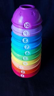 Colorful Stacking Tower