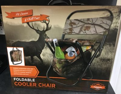 New Foldable Cooler Chair