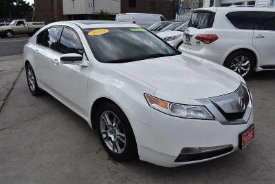 2009 Acura TL Base (White)