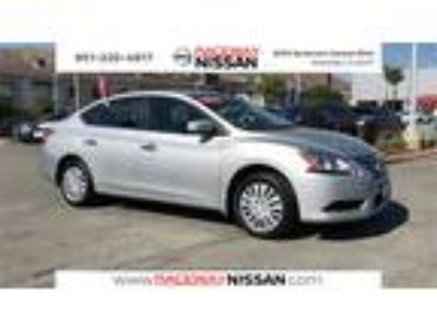 Used 2015 Nissan Sentra Brilliant Silver, 34K miles