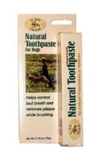 ST JON NATURALS TOOTHPASTE & 2 BRUSHES FOR DOGS...PICK-UP* 3 LOCATIONS AVAILABLE (SEE DESCRIPTION)